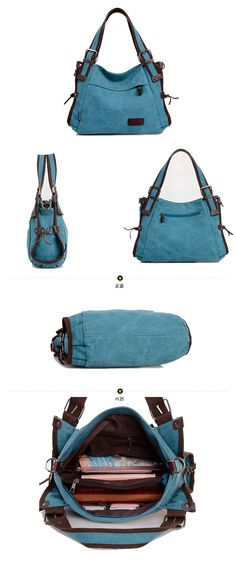 canvas colourful clutch tote handbag womens shoulder messenger bags