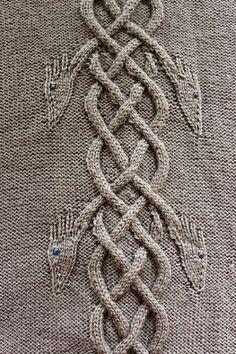 "hiddenmeadowcrochet: "" knittingfornerds: "" Dancing Dragons Coat pattern by Heike…"