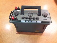 Dual Battery Setup, Solar Battery, Portable Battery, Tactical Survival, Survival Tools, Amazing Gadgets, Cool Gadgets, Wind Power, Solar Power