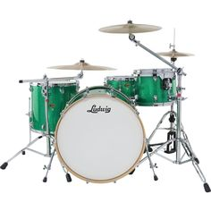 My first set was the light blue marble Ludwig set circa 1974, wish I still had that!!