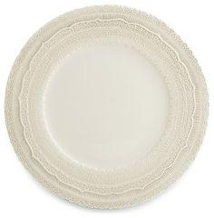 Finezza Cream Charger traditional dinnerware