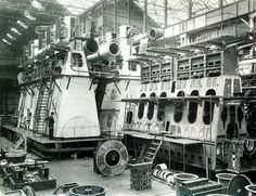 Doxford Engines, Linthouse Engine Shop by Scottish Maritime Museum - SMM, via Flickr