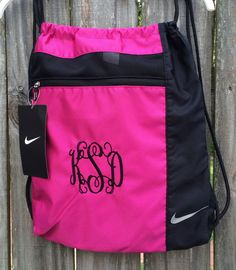 Nike Jordan Pink Drawstring Bag | Back To School | Pinterest