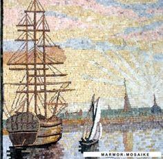 Mosaik CR262 Details Segelschiffe 1