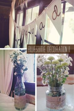 Awesome decoration rustic event