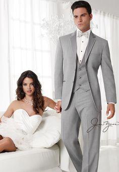 Heather gray tuxedo -------  for Garrett!!'