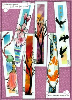 bookmarks - group 1 by *DawnstarW on deviantART