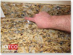 Smoothing Caulk On Granite Countertop Countertops Bathroom Ideas Finger Worktops