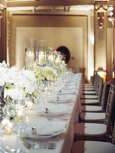 Sophisticated Black Tie DC Wedding from Abby Jiu Photography. - wedding centerpiece