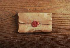 sello-de-cera-en-un-papel-de-carta