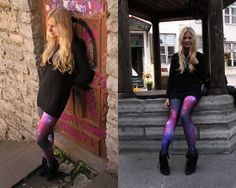 Galaxy Purple Leggings, I want these next