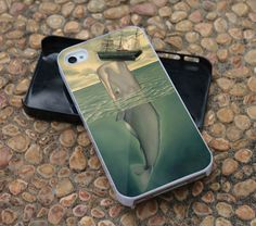 Whale And Boat For iPhone 4 Case, iPhone 4s, iPhone 5, Samsung Galaxy S3 I9300 Case and Samsung Galaxy S4 I9500 Case