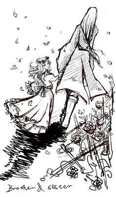 Finrod and little Galadriel