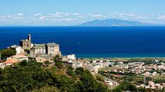 De Bastia à Casamozza Lido de la Marana ---- Furiani face à l'île d'Elbe