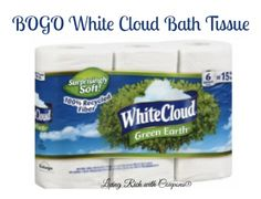 New BOGO White Cloud Bath Tissue Coupon + Walmart Deal! - http://www.livingrichwithcoupons.com/2014/06/white-cloud-coupon-bogo-bath-tissue-deal.html