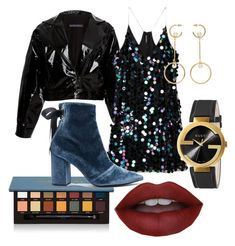 Untitled #18 by alys-myc on Polyvore featuring polyvore, fashion, style, Zeynep Arçay, self-portrait, Gucci, Chloé, Anastasia Beverly Hills and clothing
