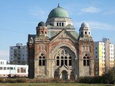 židovská synagoga/ jewish synagogue, Lucenec, Slovakia