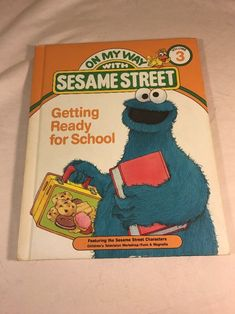 On My Way with Sesame Street Vol.3 Getting Ready for School