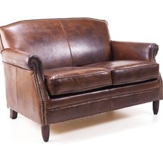 Majeurs Chesterfield Leather Two Seater Sofa 3 310 Aud Liked On Polyvore