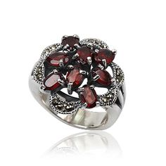Joyeria Plata y Azabache Artesania Galicia Home Page Silver and Black Jet Crafts Jewelry Crafts Tax Free, Marcasite, Vintage Rings, Jewelry Crafts, Garnet, Silver Rings, Sterling Silver, Retro, Collection