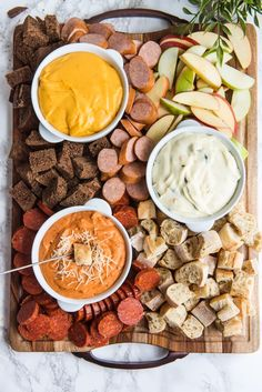A Trio of Fondue Recipes for Your Next Cocktail Party - The Sweetest Occasion Crispy Oven Fries, Crispy Oven Fried Chicken, Fries In The Oven, Baked Chicken, Fondue Recipes, Wine Recipes, Kabob Recipes, Fall Recipes, Delicious Recipes