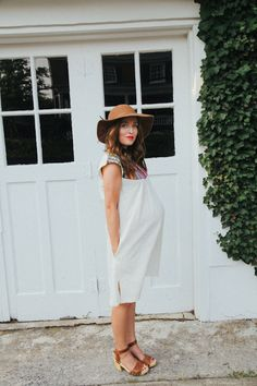 Love this simple boho look!
