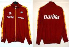 Tuta Ennerre as Roma anni 80 As Roma, Football Jerseys, Adidas Jacket, Soccer, Training, Athletic, Jackets, Vintage, Fashion