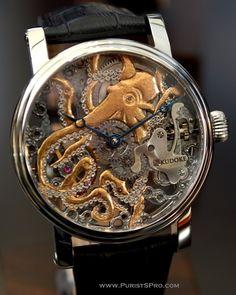 Steampunk Tendencies | KudoKtopus by Kudoke  #Watch #Octopus  www.steampunktendencies.com