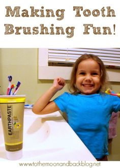 Suggestions for helping your young children in making tooth brushing fun! Take the battle out of this daily chore!