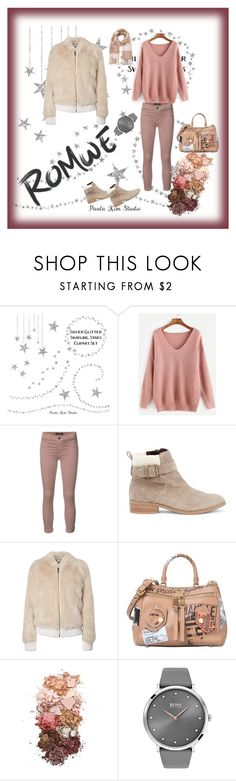 """""""Nadja"""" by alenzukic ❤ liked on Polyvore featuring J Brand, Sole Society, Moschino, Sigma, BOSS Black and Miss Selfridge"""