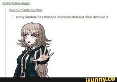 Danganronpa has many <<Chiaki is definitely one of them