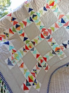 A Quilting Life - a quilt blog: Schnibbles Small Quilt Parade: Whit