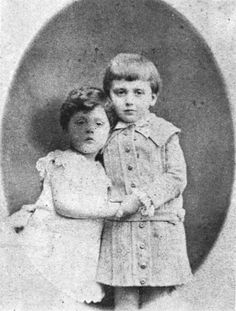 — Bon anniversaire, Monsieur Proust!( right ) and his brother Rober