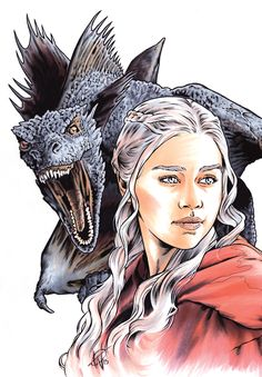 Daenerys Targaryen (Walter Trono 2015)