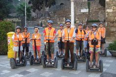 Malaga Shore Excursion: City Segway Tour 						Leave the cruise port and see the sights of Malaga by Segway!  Hop aboard a self-balancing, electric Segway. Follow an expert local guide around Malaga's historical center, learning about the city and its links to the famous Spanish painter Picasso. Admire sights like Malaga Cathedral, Museo Picasso and the Alcazaba citadel on this 2-hour tour.This small-group shore excursion is limited to 10 people, ensuring personalized attentio...