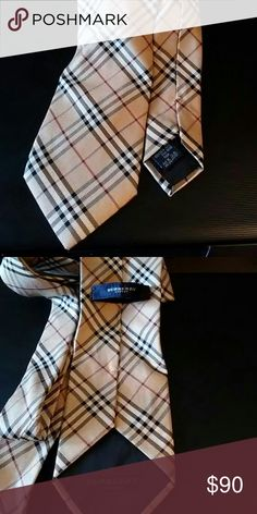 BURBERRY silk tie Burberry silk tie in great condition with Burberry traditional pattern. BURBERRY Accessories Ties
