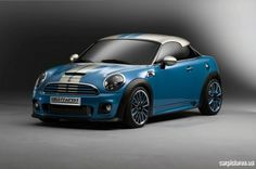 Mini Coupe - after watching the Italian Job i want this bad.