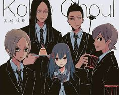 Suzuya squad @daraensuzuya Saiko Yonebayashi, Juuzou Suzuya, Kaneki, Tokyo Ghoul, Anime Art, Stitches, Everything, Dots, Stitch