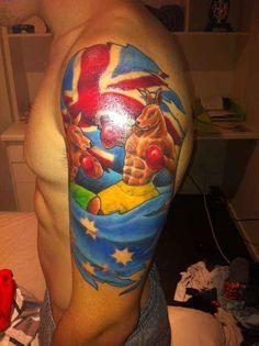 The 14 Most Fair Dinkum Aussie Tattoos Known To Man