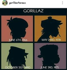 """599 Likes, 16 Comments - Lilly (Rottie) (@rottie.vociferous) on Instagram: """"Decided to repost this, its helpful for new Gorillaz fandom members. #gorillaz #noodles #stuartpot…"""""""