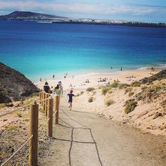 Papagayo beach - Lanzarote, Canary Islands