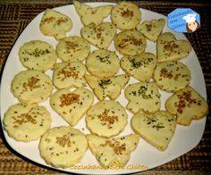 Biscoitinhos salgados - Sem glúten