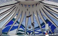 Catedral de Brasília. Distrito Federal, Brazylia. SGG COOL-LITE SKN 154. #glass #architecture #desing #future #futuristc_architecture #glassisthefuture