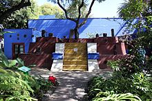 (Coyocan) The Frida Kahlo Museum (Spanish: Museo Frida Kahlo), also known as the Blue House (La Casa Azul) for the structure's cobalt-blue walls, is a...