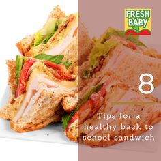 FREE DOWNLOAD + 8 tips on packing a healthy back to school or work sandwich