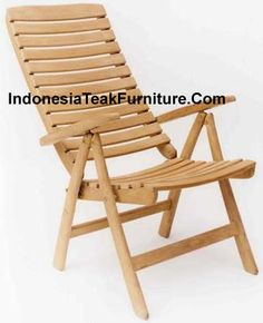 Nice Teak Wood Garden Folding Chair Linda Recliner Indonesia Teak Furniture