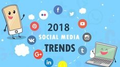 Which The Top 4 Social Media Trend Will Rule On Marketing Strategy In 2018 Social Media Marketing Courses, Social Media Services, Inbound Marketing, Content Marketing, Digital Marketing, Top Social Media, Social Media Trends, Social Channel, S Mo
