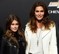 Cindy Crawford and Kaia