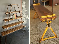 Industrial vintage and upcycled furniture, Lloyd Kellett, Newcastle