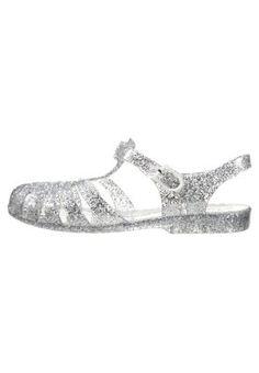 Sandali da bagno - silver